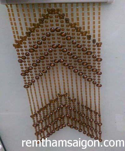 Rèm hạt nhựa k14